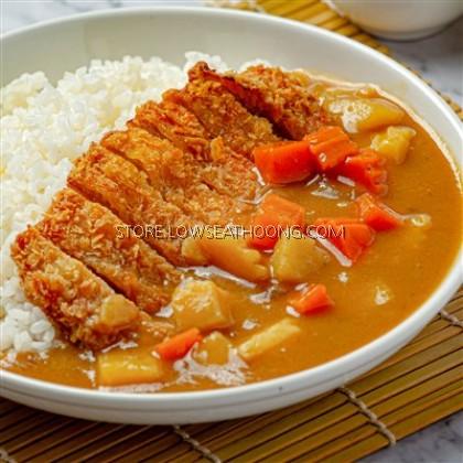 Japan Golden Hot Curry Mix 日式黄金辣味咖喱块 S&B - 220g/pkt