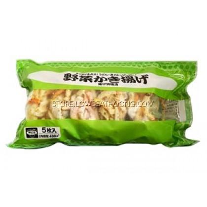 Frozen Kakiage (Fried Vegetable) 炸什锦 - 400g/pkt