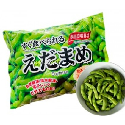 Frozen Cooked Salted Soybean 熟咸毛豆 - 400g/pkt