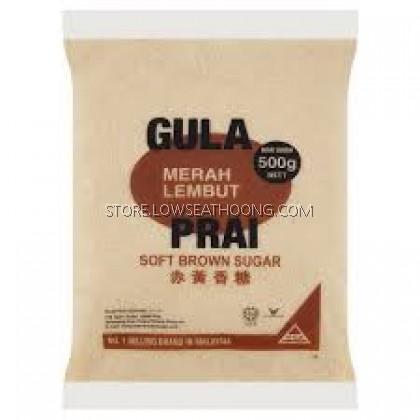 Gula Merah Lembut 赤沙糖 - 500g/24pkt/Ctn