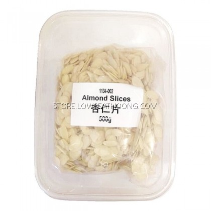 LSH Almond Slices 杏仁片 - 500g