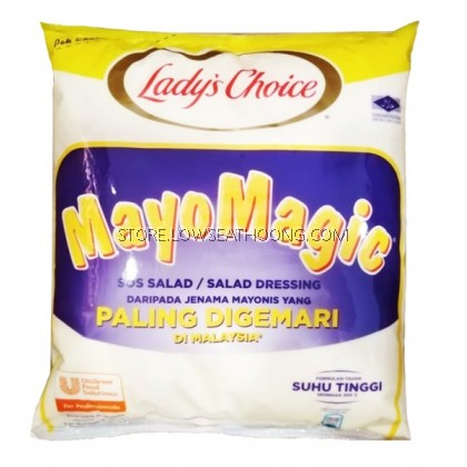 Mayo Magic 包装沙律酱 LADY'S CHOICE - 3Litre/4pkt/Ctn